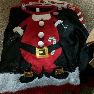 Holiday Time Sweaters 2 Person Christmas Sweater Poshmark